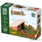 Brick Trick Téglából Építünk: Istálló Építőjáték - Trefl (Trefl, 60960)