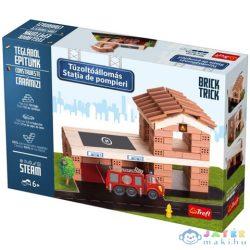Brick Trick Téglából Építünk: Tűzoltóállomás Építőjáték - Trefl (Trefl, 60966)