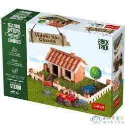 Brick Trick Téglából Építünk: Vidéki Ház Építőjáték - Trefl (Trefl, 60965)