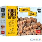 Brick Trick: Utántöltő - 70 Db Barna Árnyalatú Kastélytégla (Trefl, 61153)