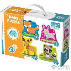 Erdei Állatok Bébi Puzzle Szett - Trefl (Trefl, 36077)