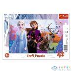 Jégvarázs 2: Anna És Elsa Keretes Puzzle 15Db-os - Trefl (Trefl, 31348)