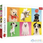 Kutyák 500 Darabos Puzzle (Trefl, 37378)