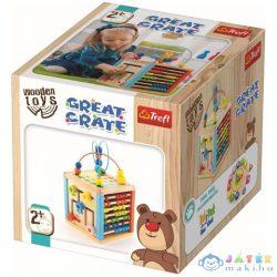 Nagy Játszókocka Fa Fejlesztő Játék - Trefl (Trefl, 60941)