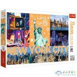 Trefl Neon Color Line: New York City 1000 Db-os Puzzle (Trefl, 10579)