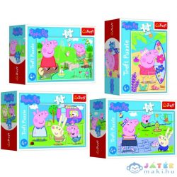 Peppa Malac: Peppa Malac Boldog Napja 54 Darabos Mini Puzzle - Többféle (Trefl, 54169)