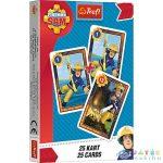 Sam, A Tűzoltó: Fekete Péter Kártyajáték (Trefl, 8480)