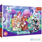 Vidám Enchantimals Világ 24Db-os Maxi Puzzle - Trefl (Trefl, )
