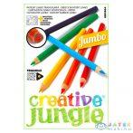 Creative Jungle 12 Darabos Jumbo Háromszögletű Színes Ceruza (Ügyv-Szerv, 96091010)