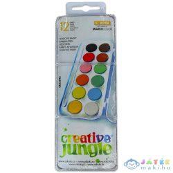 Creative Jungle: 12 Darabos Kicsi Vízfesték (Ügyv-Szerv, CEA2043)
