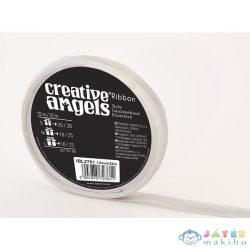 Creative Angel Díszkötöző Szatén Szalag - Ezüst (Ügyv-Szerv, IBL2761)