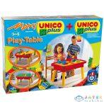 Unico: Multifunkciós Játszóasztal Építőkockákkal (Unico, 8805-0000)