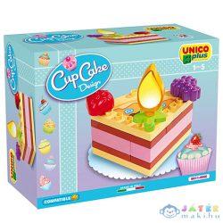 Unico: Tortaszelet Építőkocka Szett (Unico, 8611-00CC)