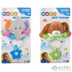 Állatos Baby Csörgő Négy Féle Változatban (Unikatoy, 902207)