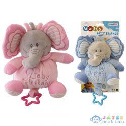Baby Plüss Elefánt Csörgő 2 Változatban (Unikatoy, 902067)