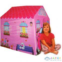 Rózsaszín Házikó Játszósátor 95X72X102Cm (Unikatoy, 8726)