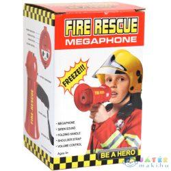 Tűzoltósági Elektronikus Megafon Szirénával (Unikatoy, 912361)