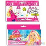 Barbie Színes Ceruzaszett 24Db (Unipap, )