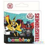 Transformers 12Db-os Színes Zsírkréta Szett (Unipap, )