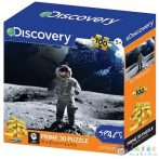 Discovery Channel: Űrhajós A Holdon 100 Darabos 3D Puzzle (Vega-Impex, PRIME-13757)