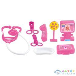 Játék Orvosi Készlet- Rózsaszín (Vega-Impex, PF-0127)