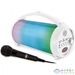 Szivárványos, Világító, Bluetooth Hangszóró Mikrofonnal (Vega-Impex, LEX-BTP585Z)
