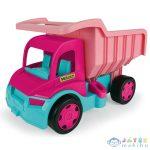 Gigant Truck Rózsaszínű Óriás Dömper 150 Kg-os Teherbírással - Wader (Wader, 65006)