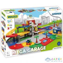 Kid Cars Mega 3 Emeletes Garázs Lifttel 7,4 Méter - Wader (Wader, 50320)