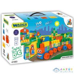 Közepes Méretű Építőkockák 140Db-os - Wader (Wader, 41583)