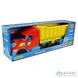 Magic Truck Basic Kamion Billencses Utánfutóval És Világítással 80Cm-Es - Wader (Wader, 36300)