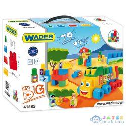 Middle Blocks Közepes Méretű Építőkocka Szett Hordtáskában 70Db - Wader (Wader, 41582)