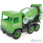 Middle Truck: Betonkeverő Autó 43Cm Zöld - Wader (Wader, 32104)
