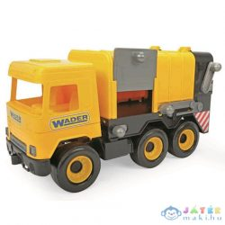 Middle Truck: Kukás Autó 43Cm Sárga - Wader (Wader, 32123)