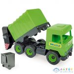 Middle Truck: Kukás Autó 43Cm Zöld - Wader (Wader, 32103W)