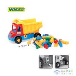 Wader: Multi Dömper Épitőelemekkel - 17 Részes, 38 Cm (Wader, 32330)
