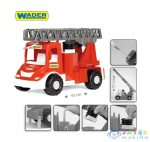 Wader: Multi Tűzoltóautó Vízpumpával És Létrával 43 Cm (Wader, 32170)