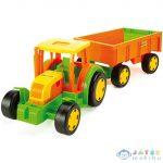 Óriás Traktor Utánfutóval 102Cm - Wader (Wader, 66101)