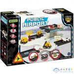 Play Track Városi Repülőtér Játékszett (Wader, 53550W)