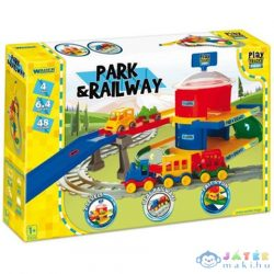 Play Track Vasútpálya Híddal (Wader, 51510)