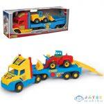 Super Truck Homlokrakodó Munkagéppel - Wader (Wader, 36520)