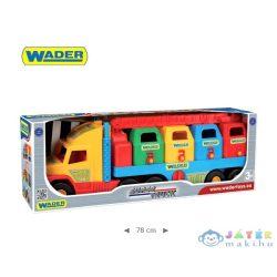 Wader: Szuper Szemétgyűjtő Kamion 80 Cm (Wader, 36530)
