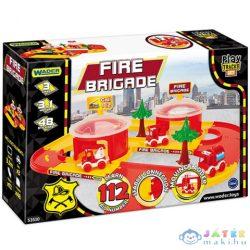 Tűzoltó Állomás Játékszett - Wader (Wader, 53510W)