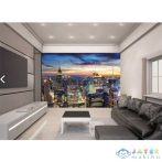 New York City Skyline Fali Tapéta - Walltastic (Walltastic, 45149)