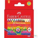 Faber-Castell: Színes Zsírkréta 24 Db-os (White Crystal, J31592)