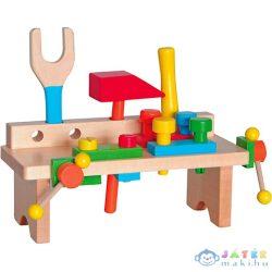Fa Szerelőasztal 16 Elemmel (Woodyland, 90103)