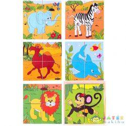 Fakocka Kirakó - Szafari Állatok (Woodyland, 90921)