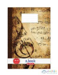 Xbook A5-Ös Hangjegy Füzet - Barna, (Herlitz, 09089251)